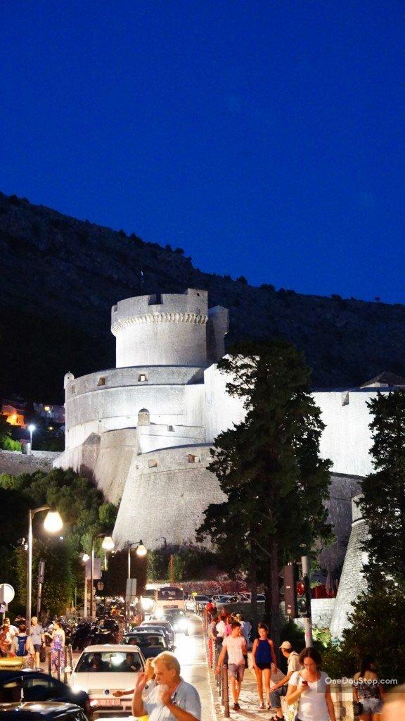 Dubrovnik, Twierdza Minceta, Chorwacja