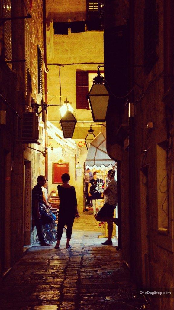 Street life, Dubrovnik, Chorwacja