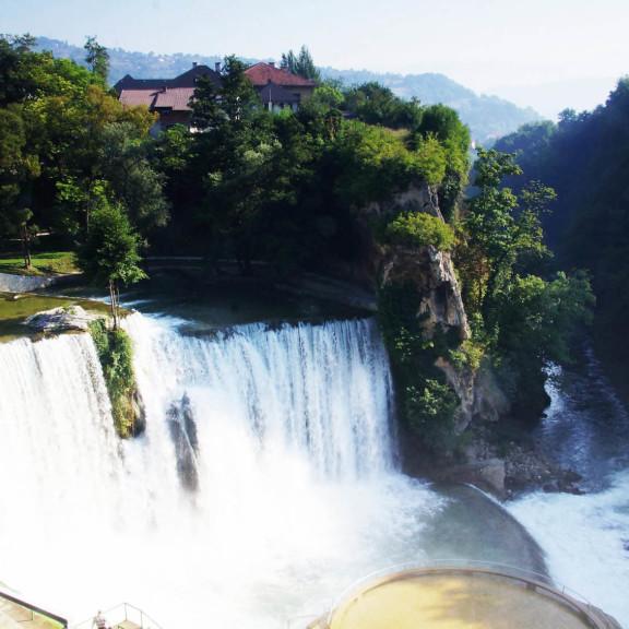 Jajce, Wodospad, Bosnia and Herzegovina