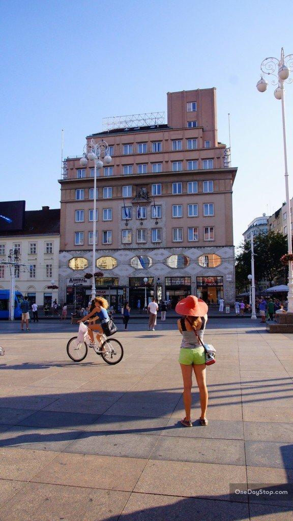 Trg Bana Josipa Jelacica, Zagrzeb, Chorwacja