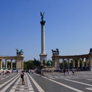 Hosok ter, Plac Bohatrów, Budapeszt, Węgry