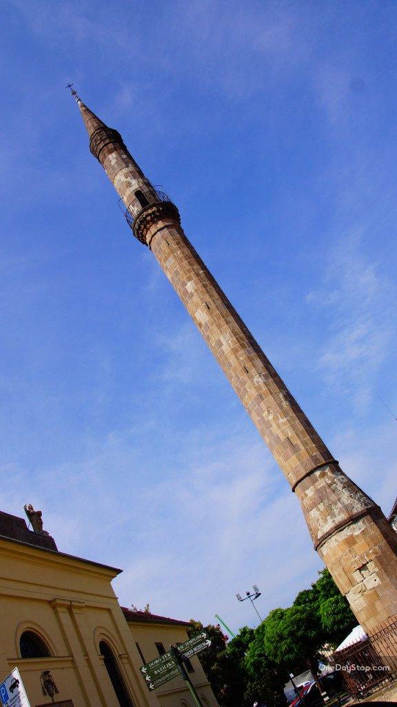 Eger, minaret, Węgry