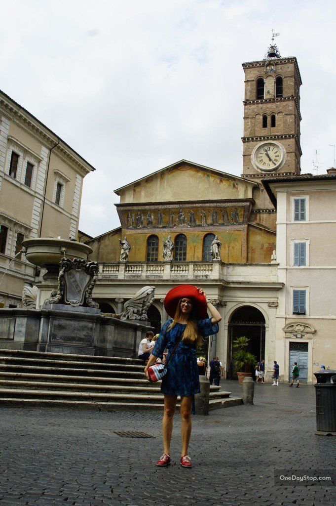 Piazza Di Santa Maria in Trastevere Wyszukaj w Mapach Google