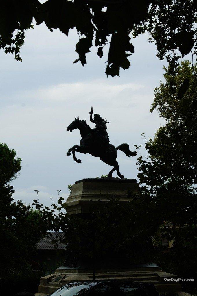 Anita Garibaldi na koniu
