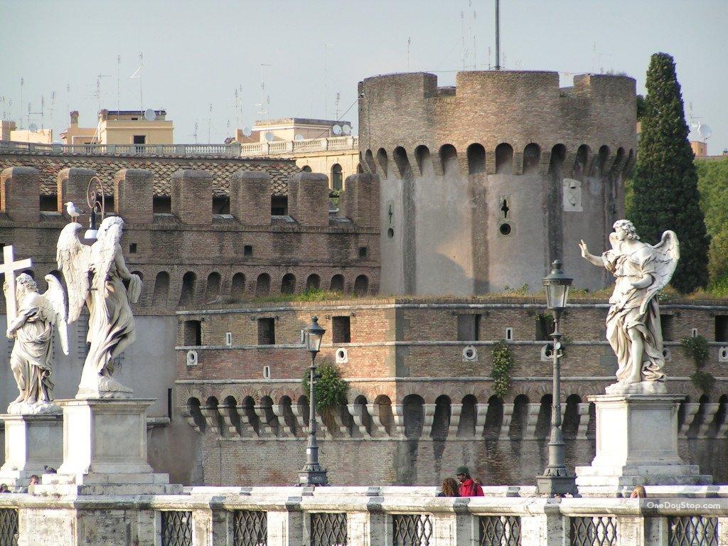 Most Św. Anioła, Ponte Sant'Angelo, Rzym
