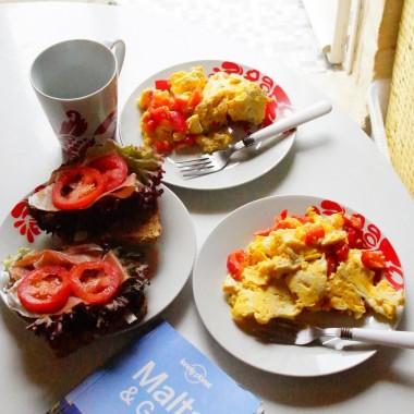 śniadanie na malcie