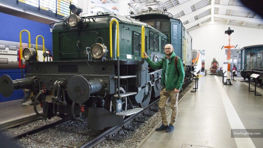 Lokomotywa w muzeum transportu, Lucerna