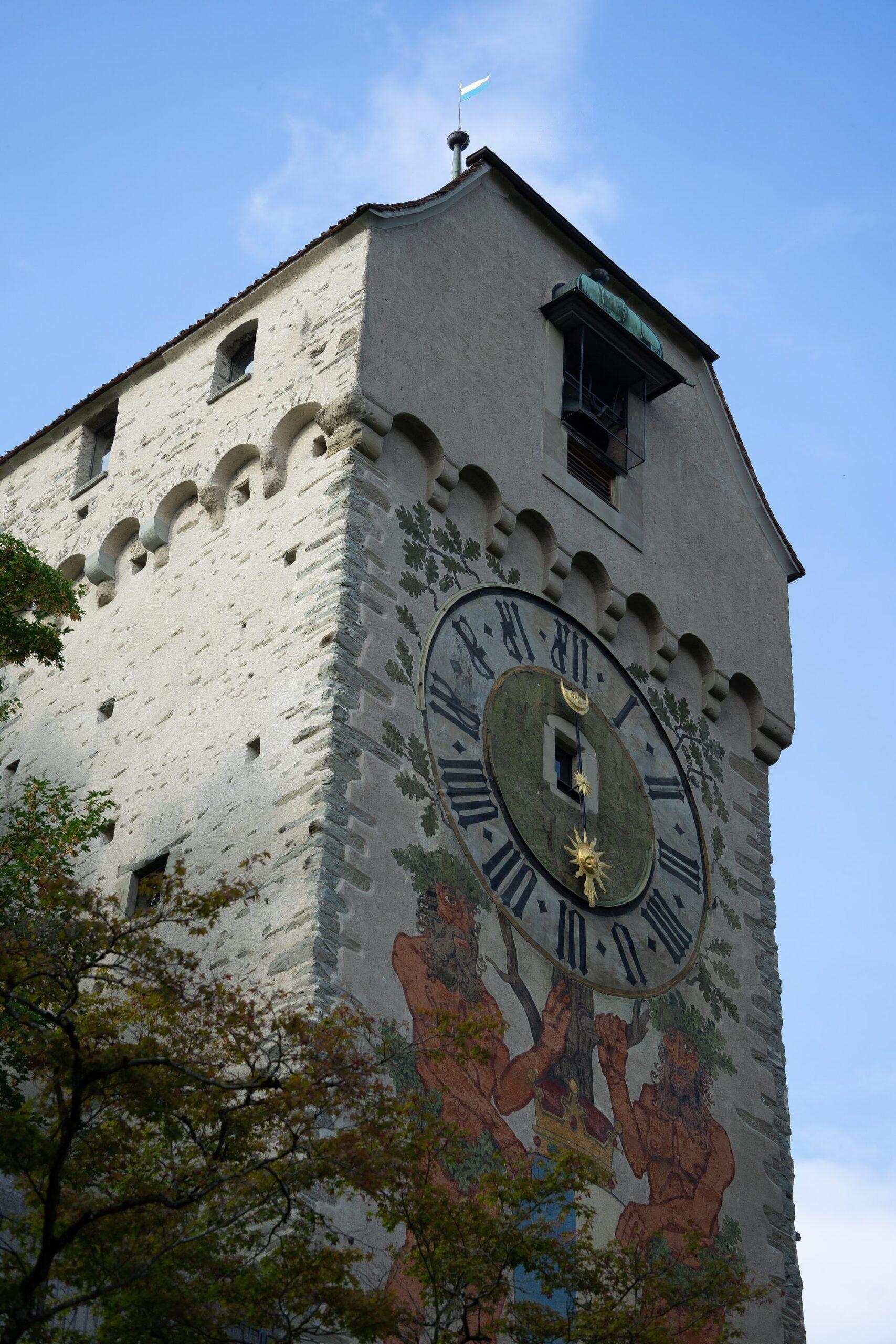 Zytturm - wieża zegarowa w Lucernie
