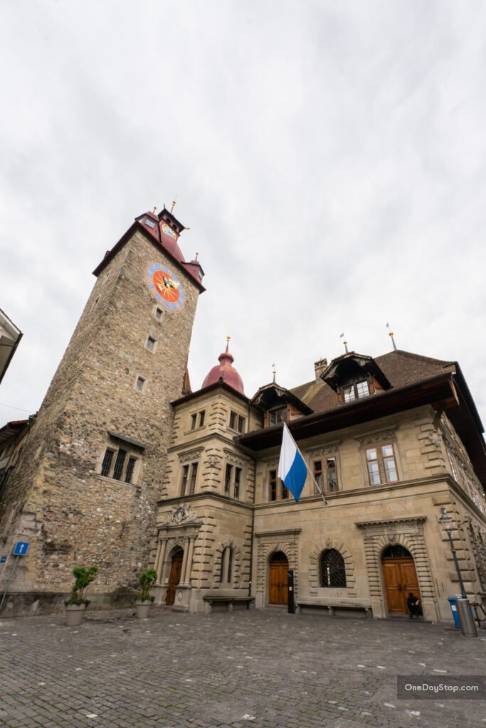 Lucerna - ratusz