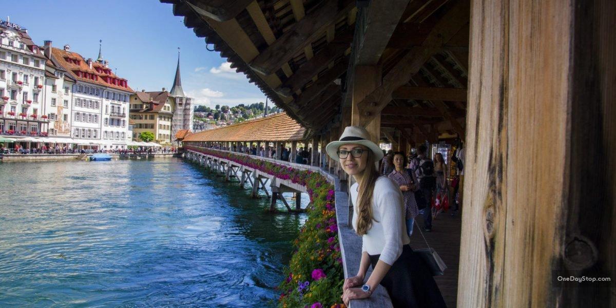 Lucerna - Most Kapliczny latem