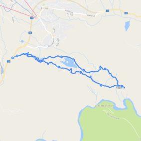 Laax hiking trail to Il Spir