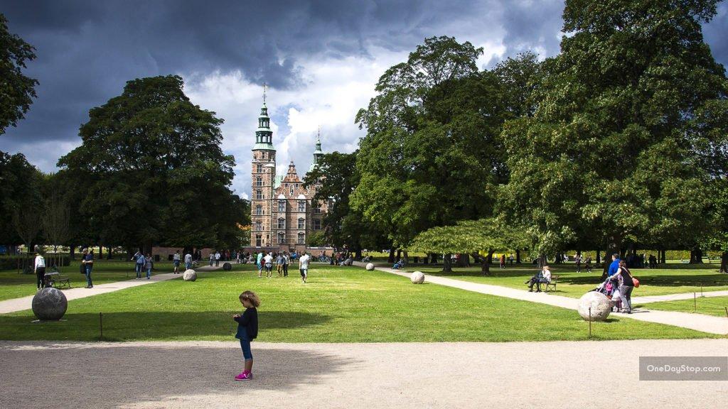 Rosenborg, Ogrody Królewskie