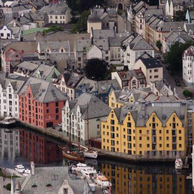 Alesund, Norway from Aksla