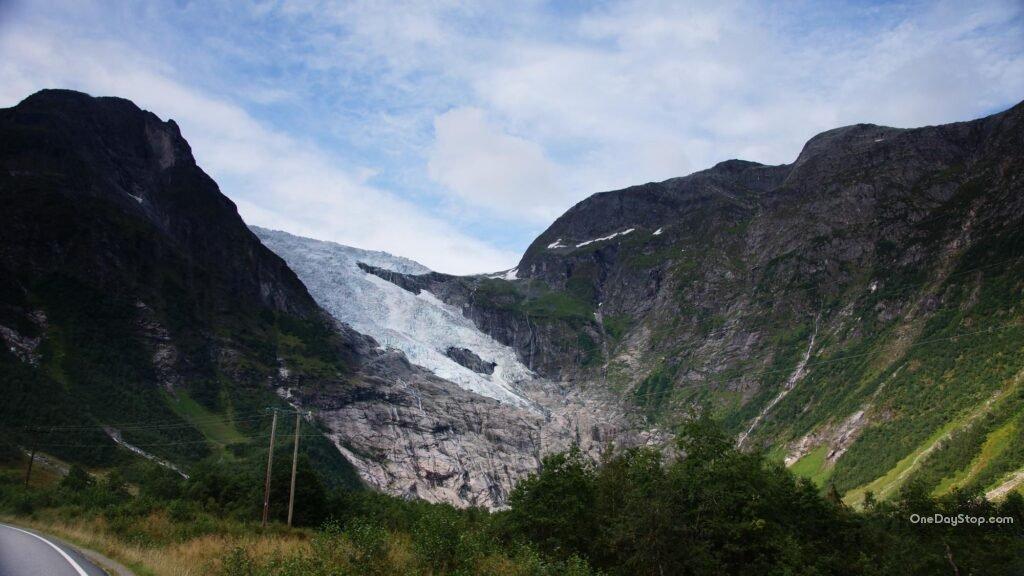 Bøyabreen Glacier
