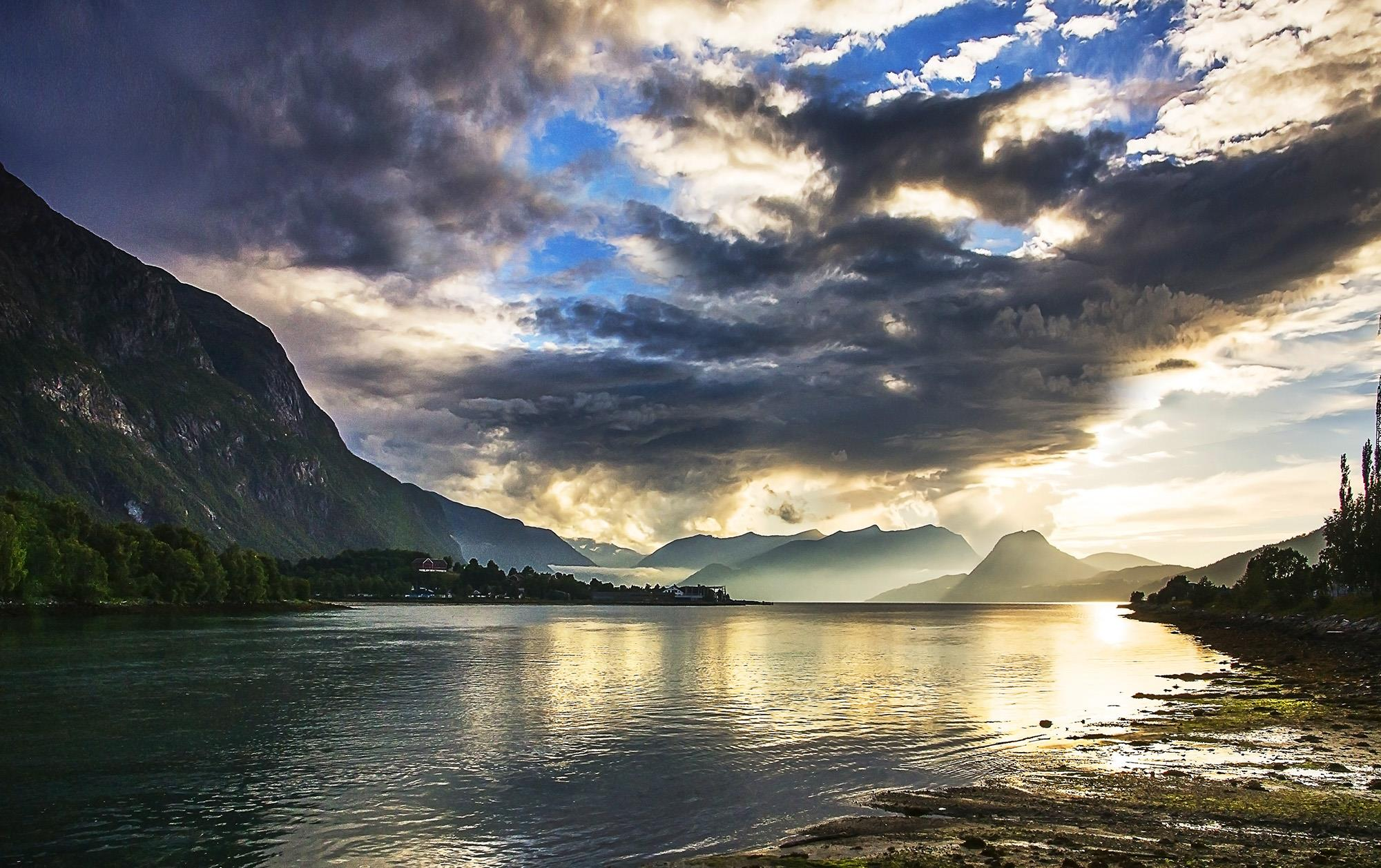 Sunset at Åndalsnes