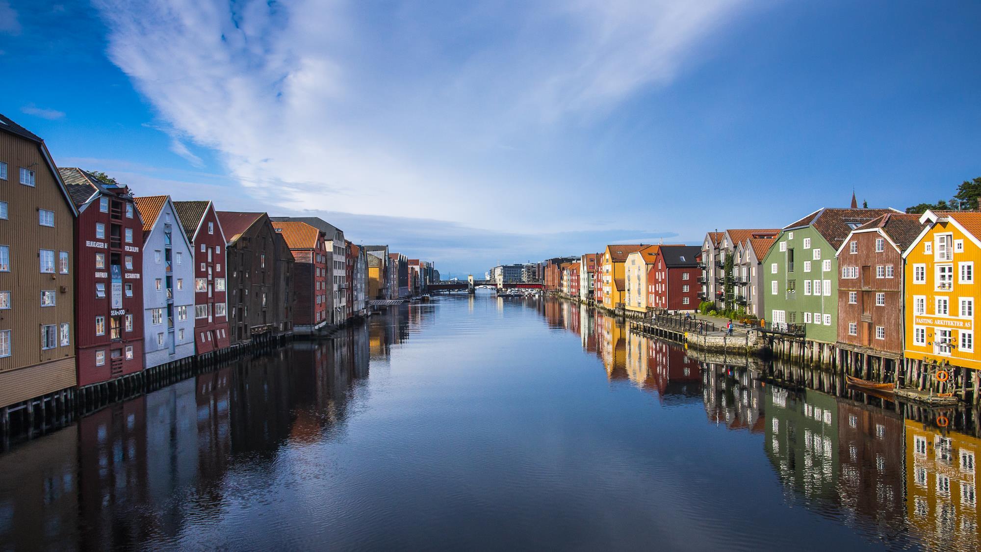 Kjøpmannsgata, Trondheim, Norway