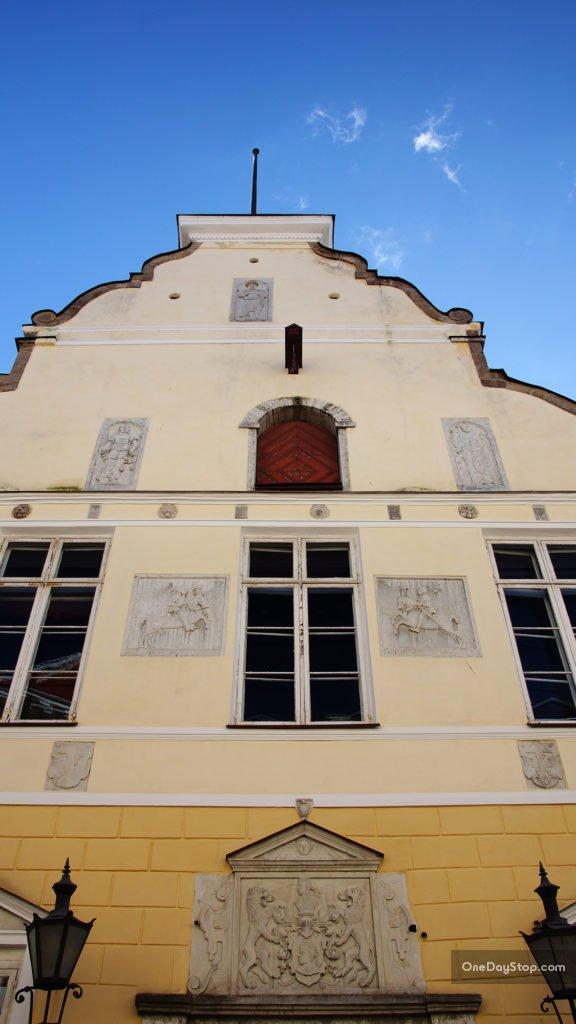 Pikk 26 - Tallin, Dom Bractwa Czarnogłowych
