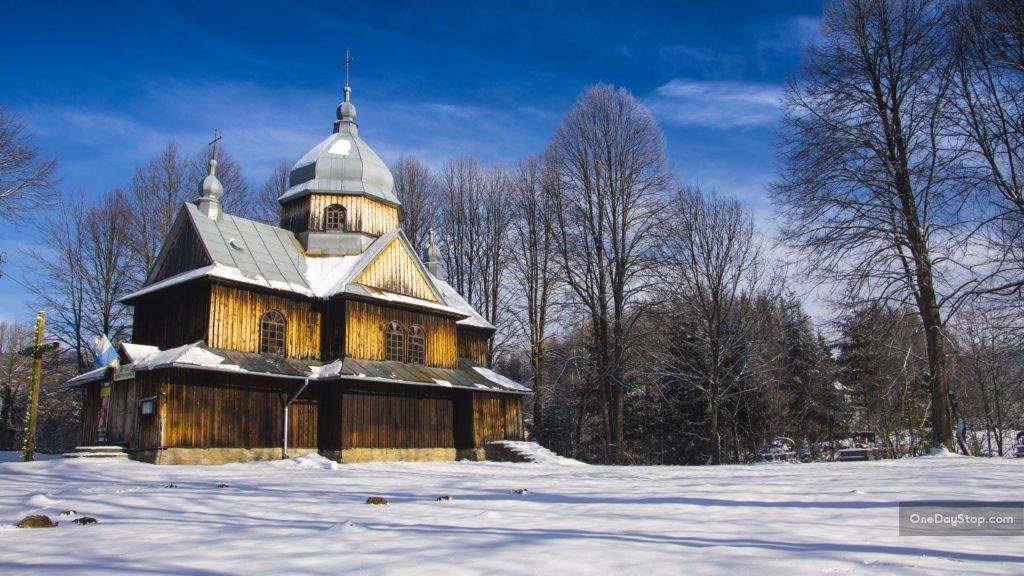 Cerkiew w Chmielu, Bieszczady