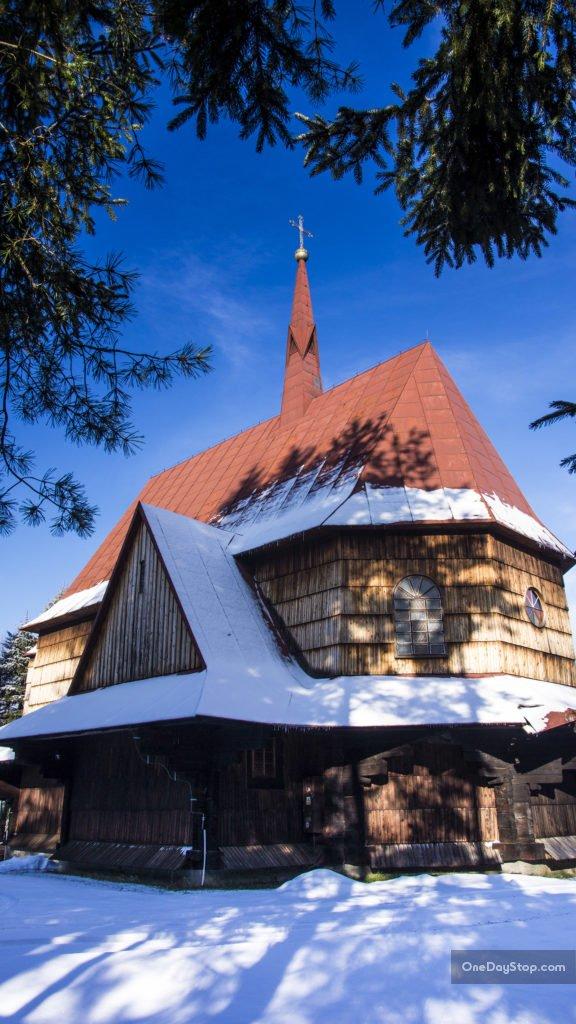 Cerkiew w Dwerniku, Bieszczady