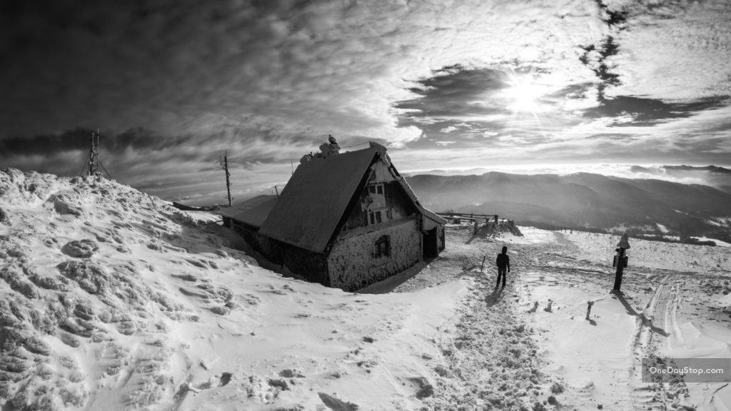 Chatka Puchatka zimą, Bieszczady