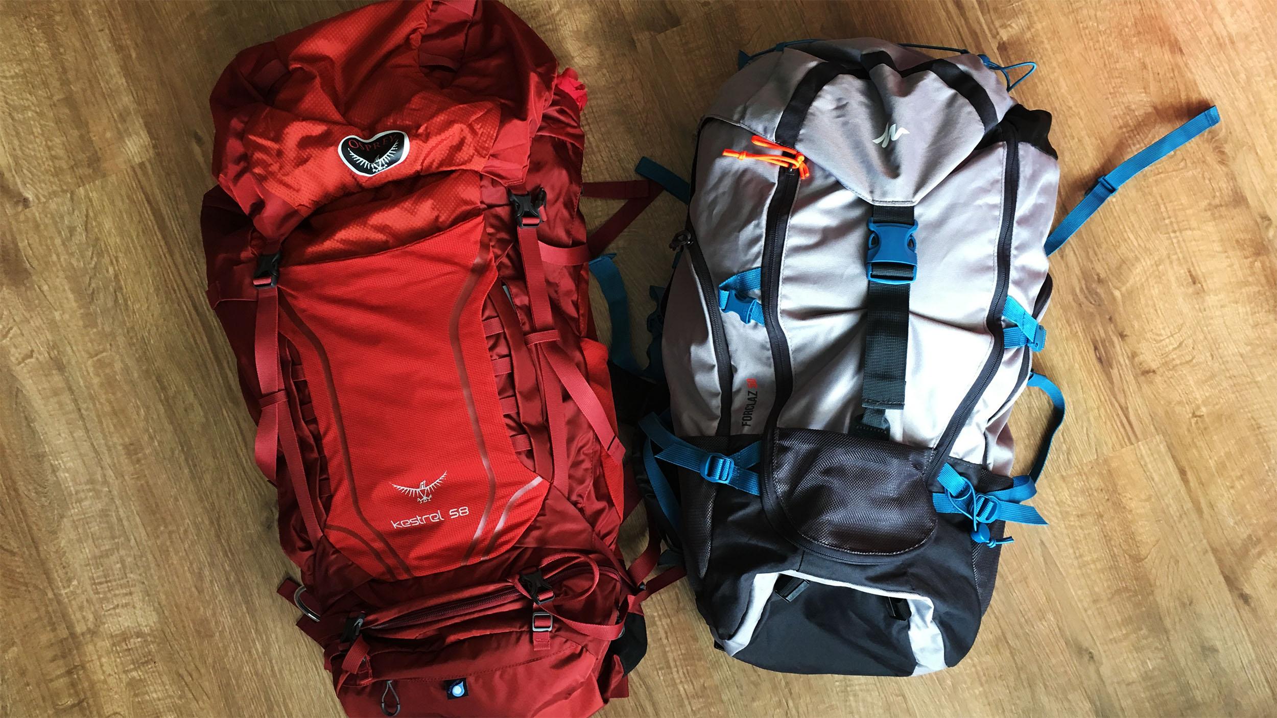 d52a6349d44ed Jaki wybrać plecak turystyczny - porównanie Osprey i Decathlon