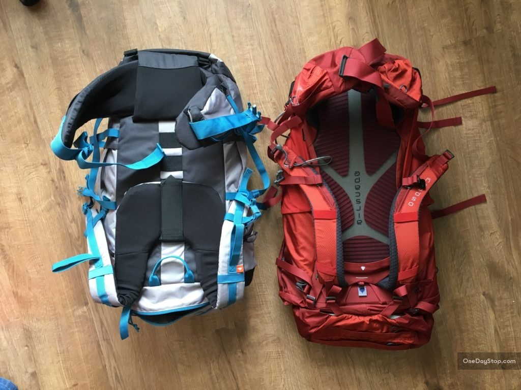 decathlon and osprey