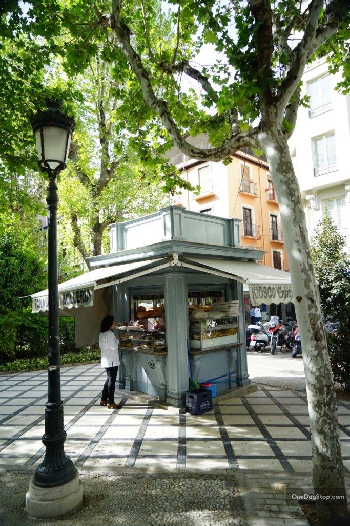 Granada - budka z pieczywem