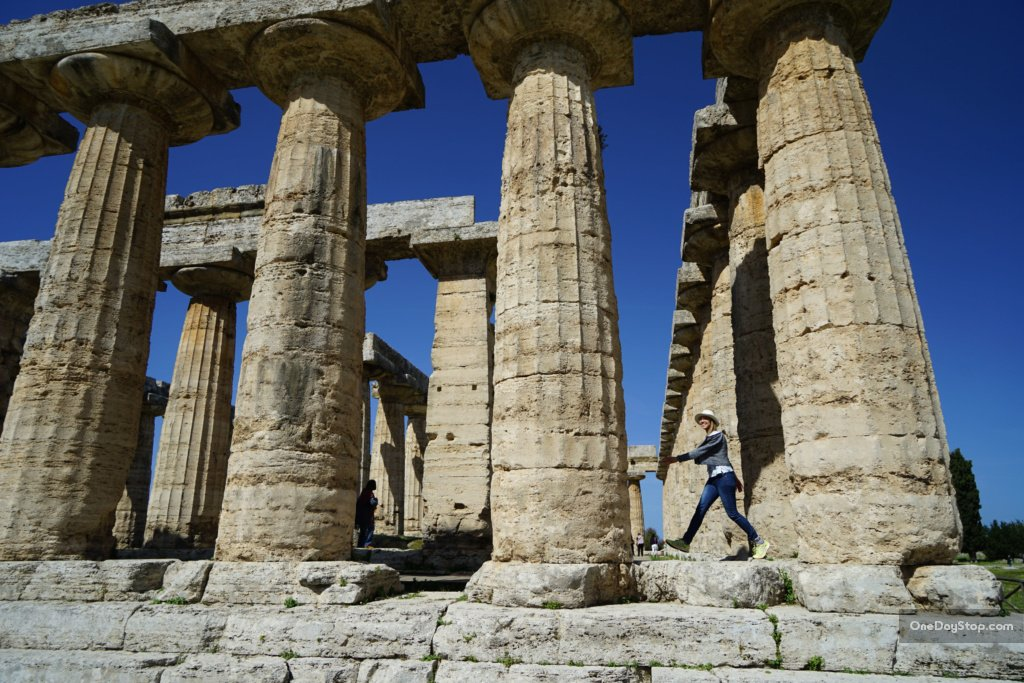 Paestum - świątynia Hery