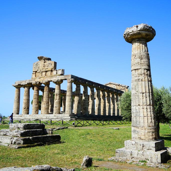 Paestum - świątynia Ateny