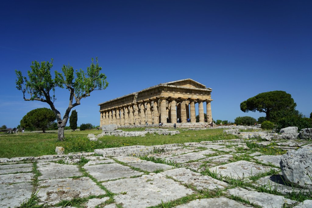 Paestum - świątynia Posejdona