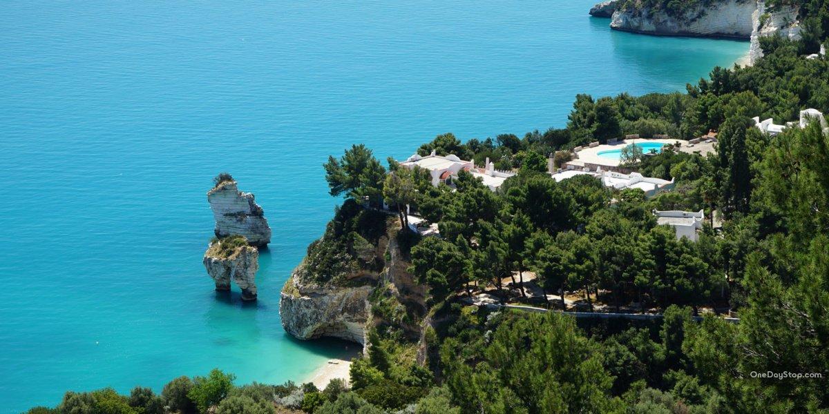 Gargano, Puglia - Vieste, Beach