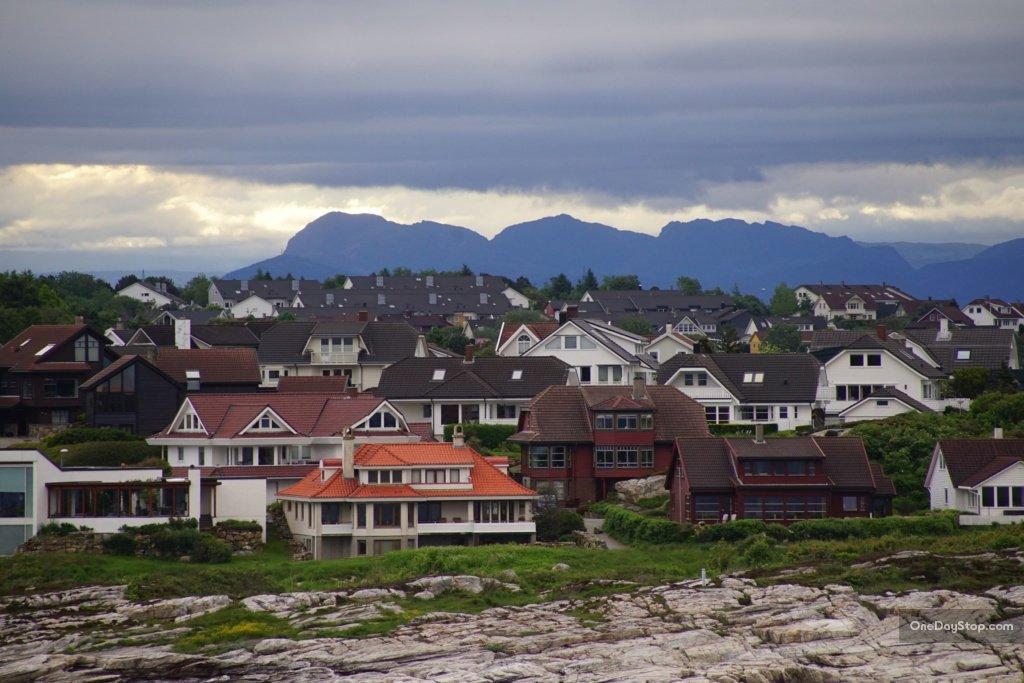 Stavanger z promu