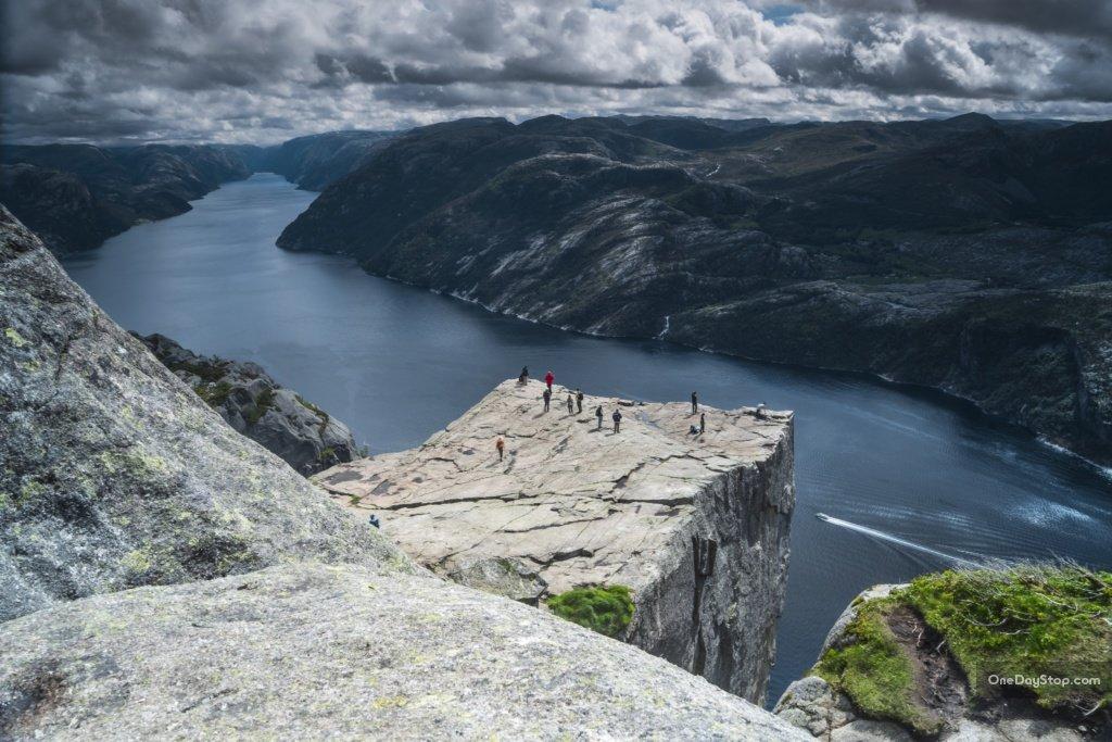 Preikestlen nad Lysefjord
