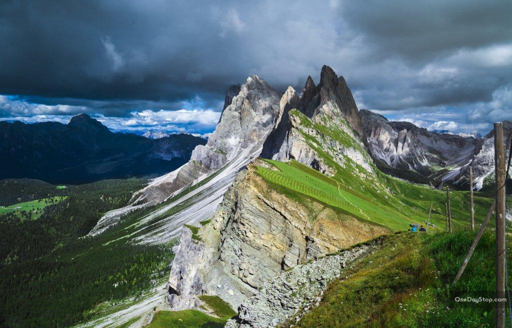 Seceda, Grupa Odle, Dolomity
