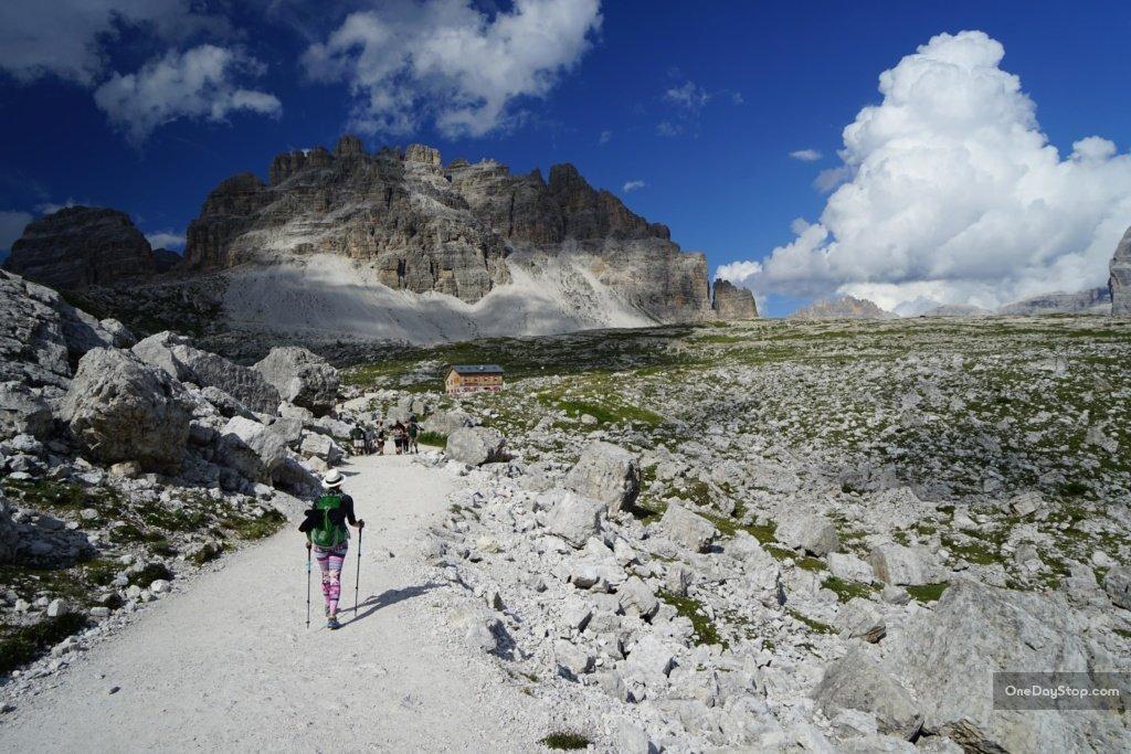 Do przełęczy Lavaredo