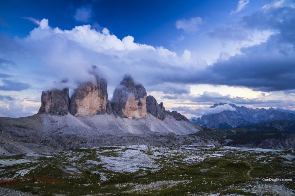 Trzy Kominy - Dolomity