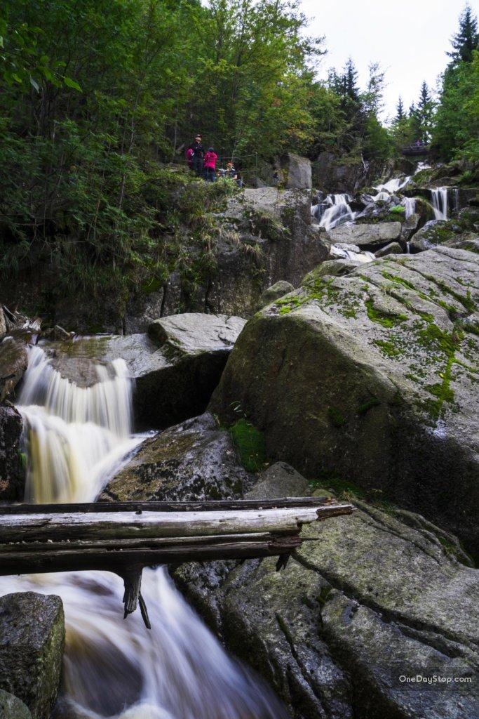 Wodospad Stolpich, Góry Izerskie