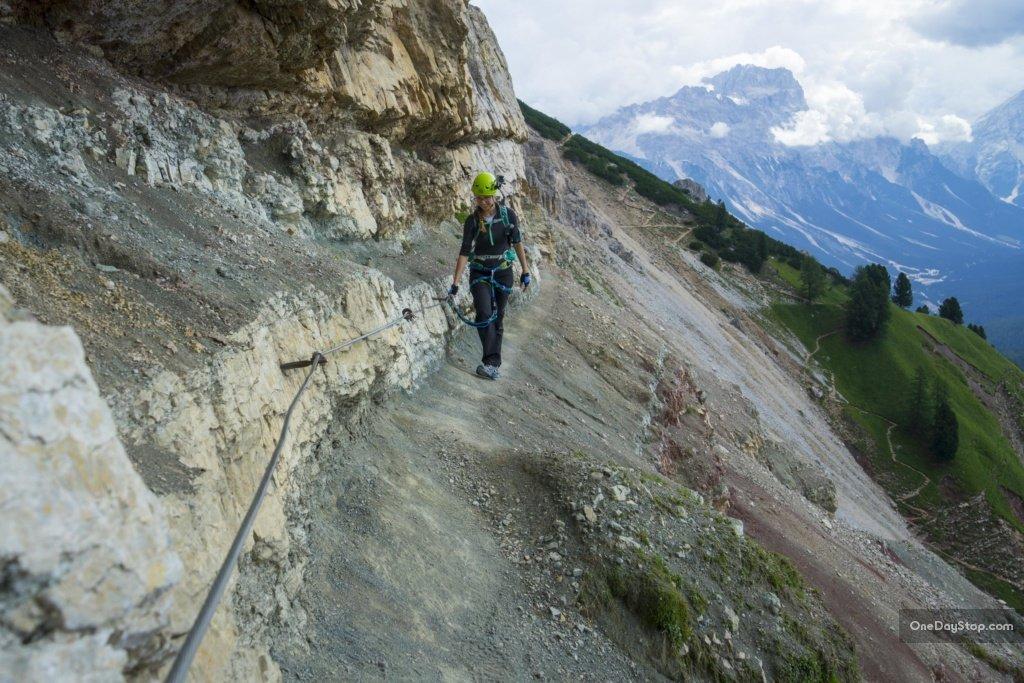 Via ferrata Astaldi, Dolomity