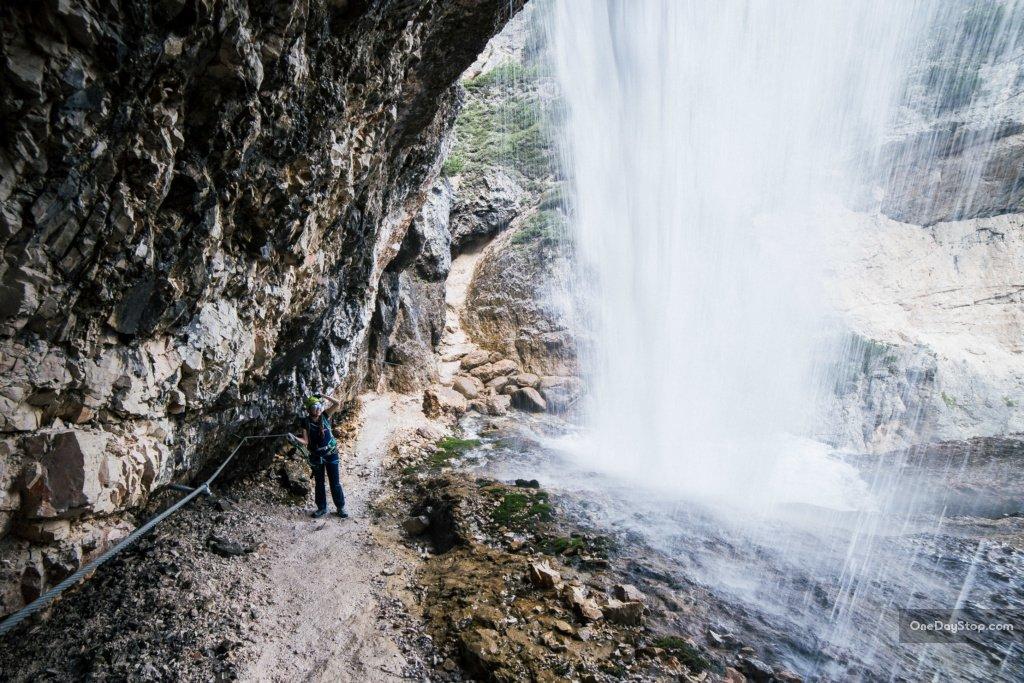 Cascada di Fanes - Via ferrata Dolomites Easy