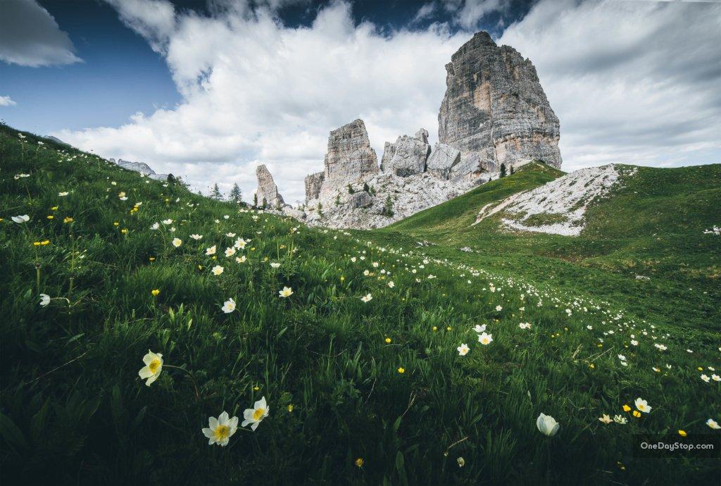 Dolomity, Cinque Torri