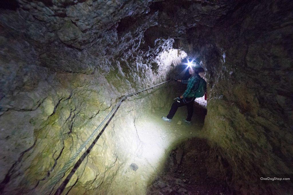 Lagazuoi tunnels