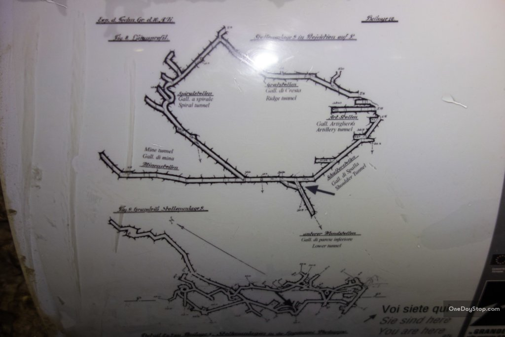 mapa tuneli