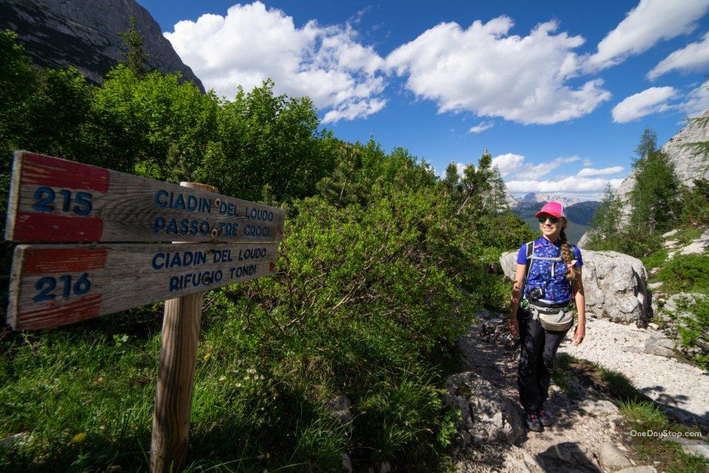 Trail to Lago di sorapis