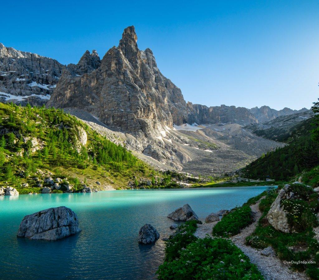 Lago di Sorapis, Dolomity