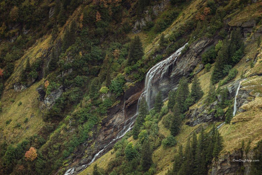 Wodospad na Milibach