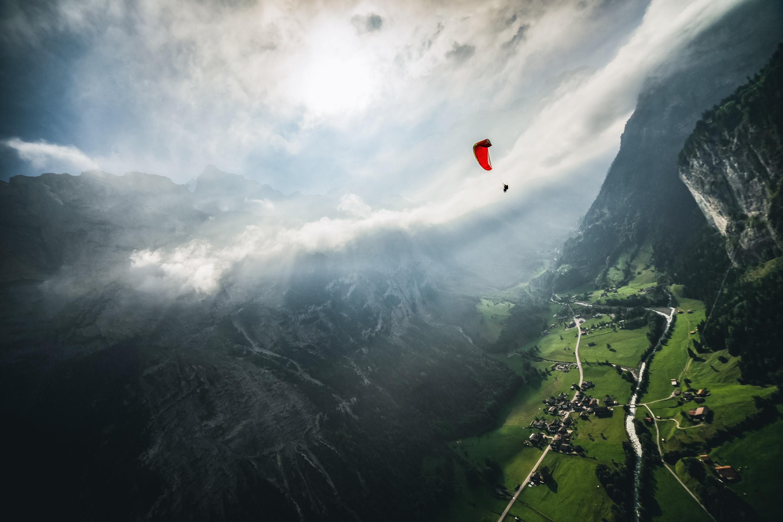 Murren - Switzerland - paragliding