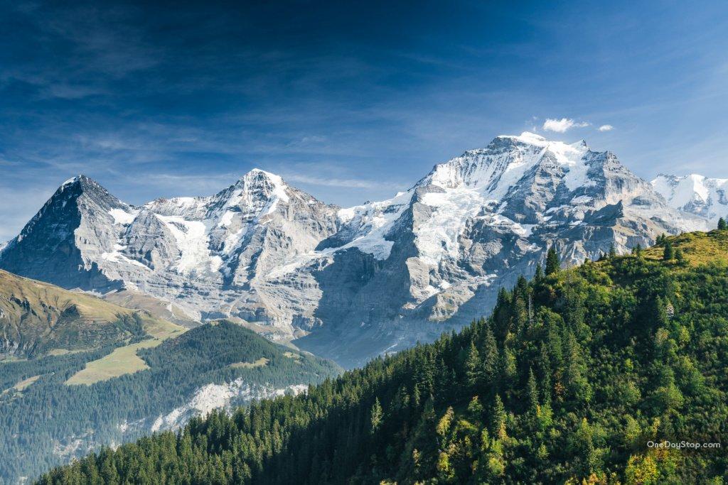 Eiger, Monoch, Jungfrau