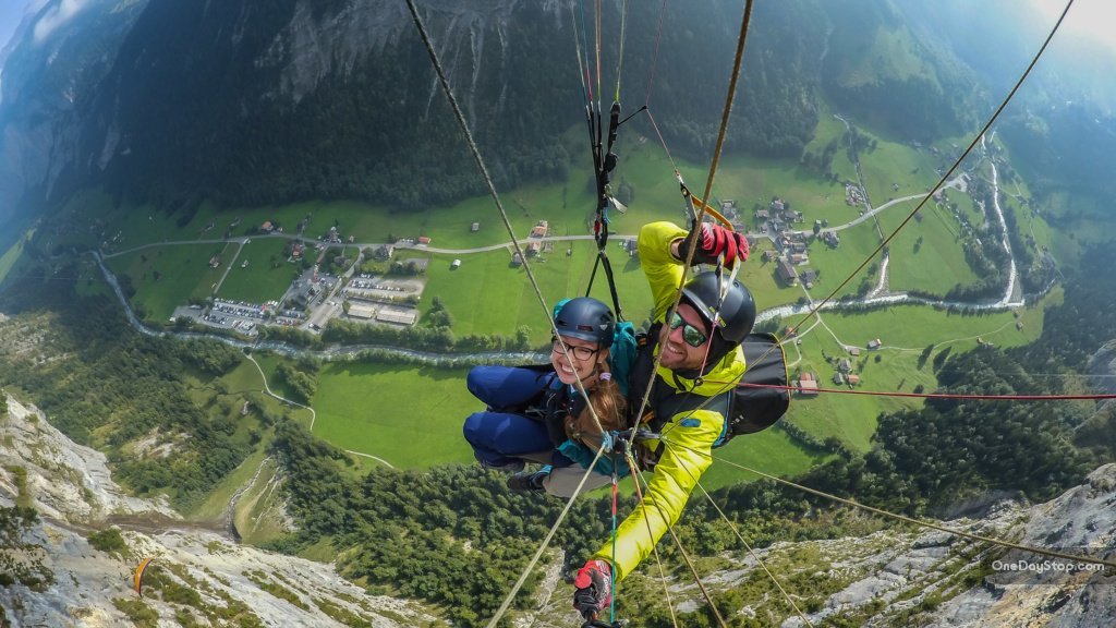 Murren - Switzerland - paragliding