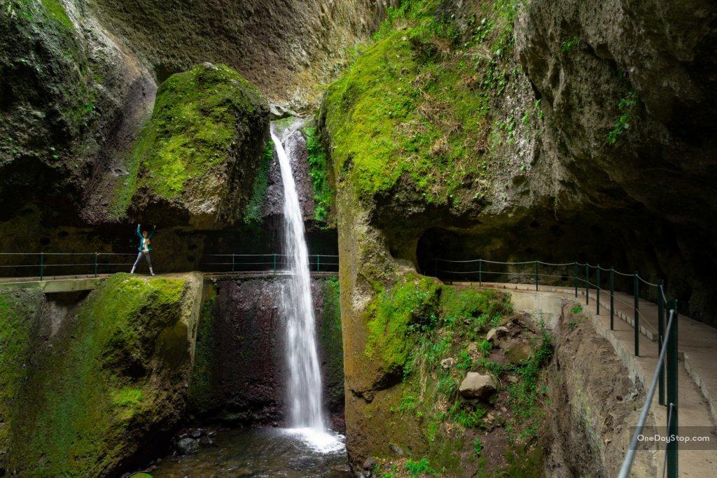 Levada Nova - waterfall - Madeira