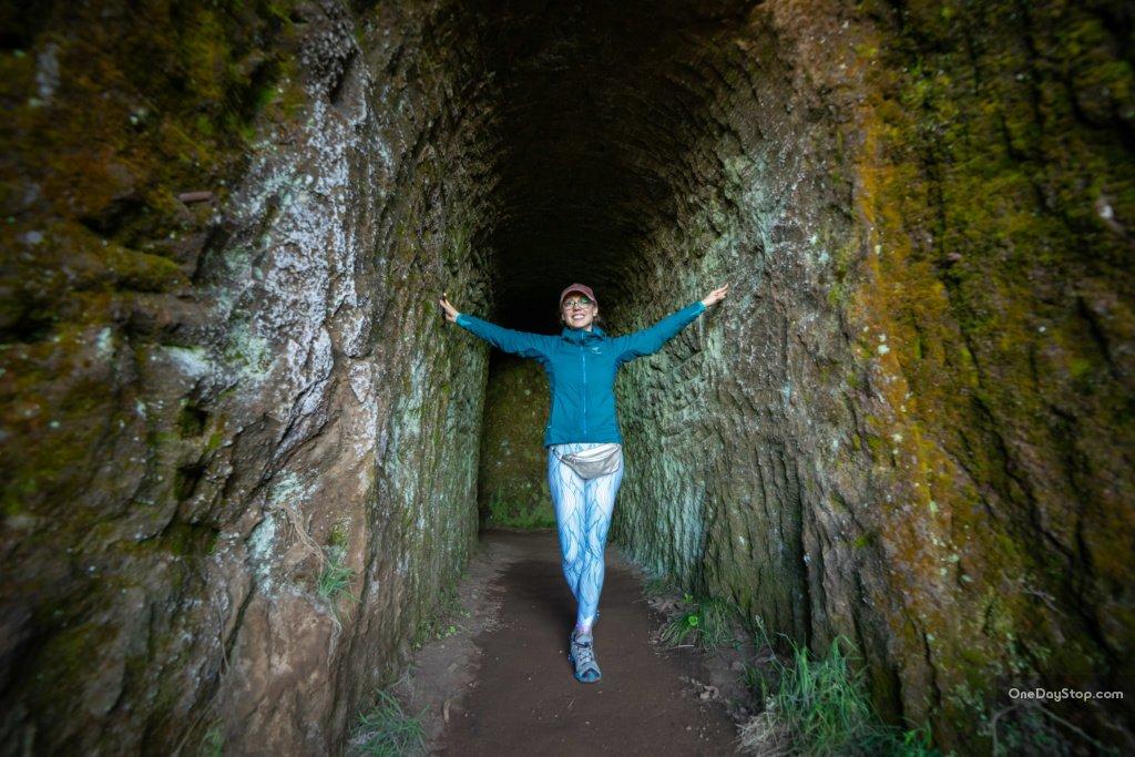 Tunel na szlaku PR1